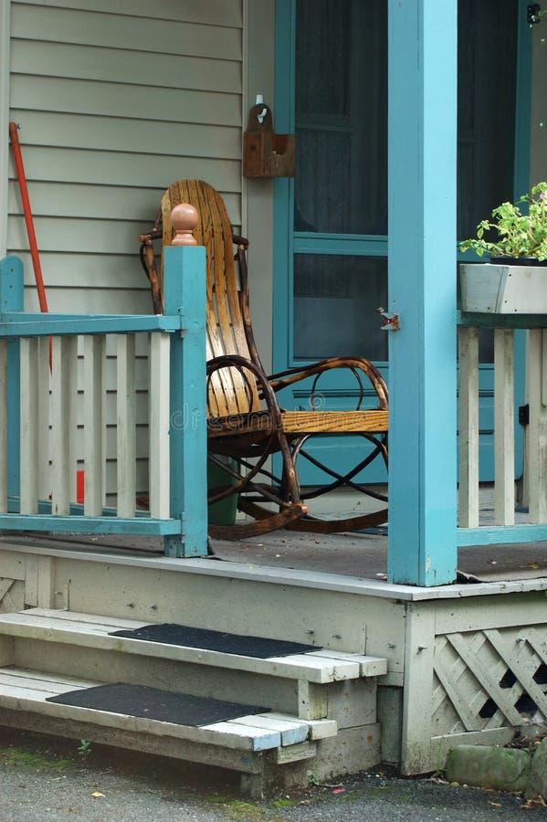 Download Cottage Porch stock photo. Image of door, steps, flower - 214416