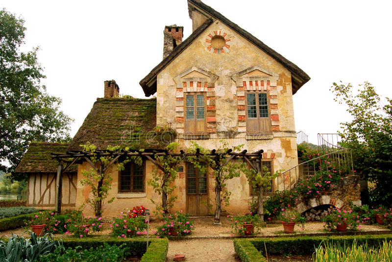 Download Cottage In The Queens Hamlet Versailles France Stock Photo