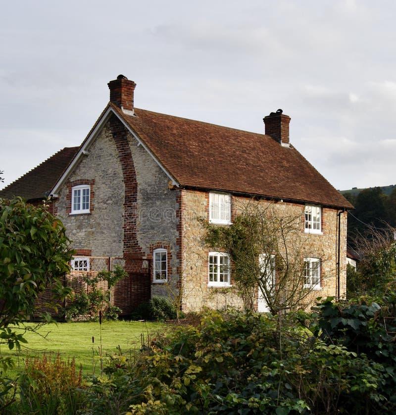 Cottage rurale singolare immagine stock