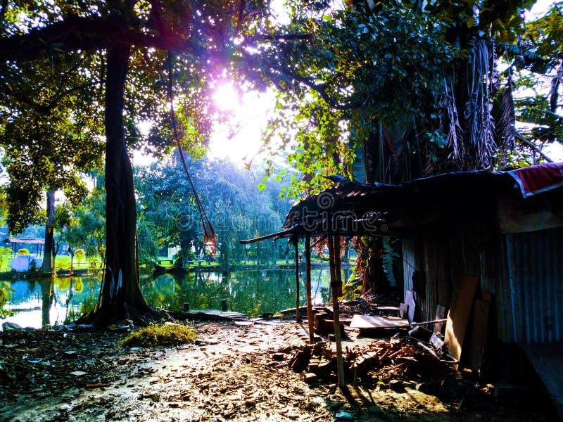 Cottage silenzioso fotografia stock libera da diritti