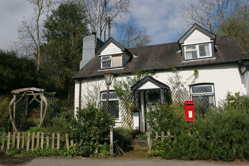 Cottage singolare immagini stock