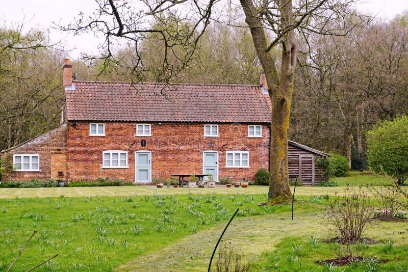 Cottage singolare immagine stock
