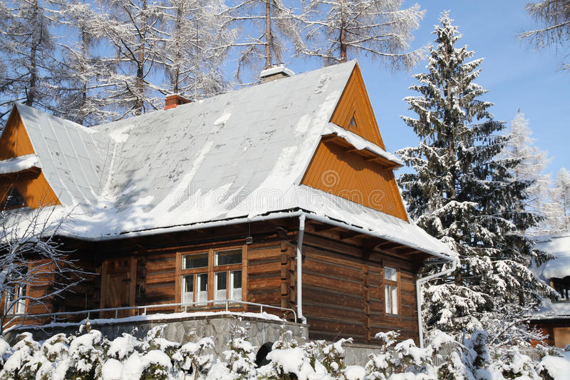 Download Cottage In Snowy Winter Season Stock Photo - Image: 41039672
