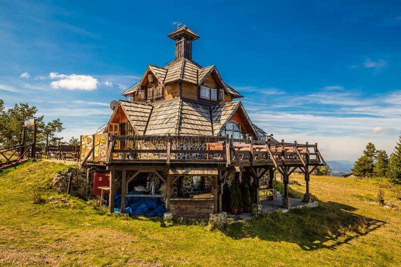 Cottage At Tornik Mountain - Zlatibor, Serbia. Europe royalty free stock photos