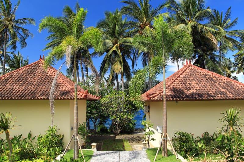Cottage tropicale fotografia stock libera da diritti