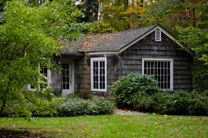 Download Cottage In The Woods Stock Image Of Home