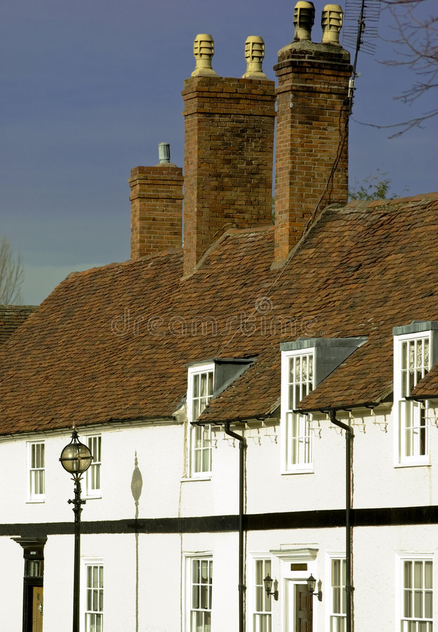 Cottages stock image
