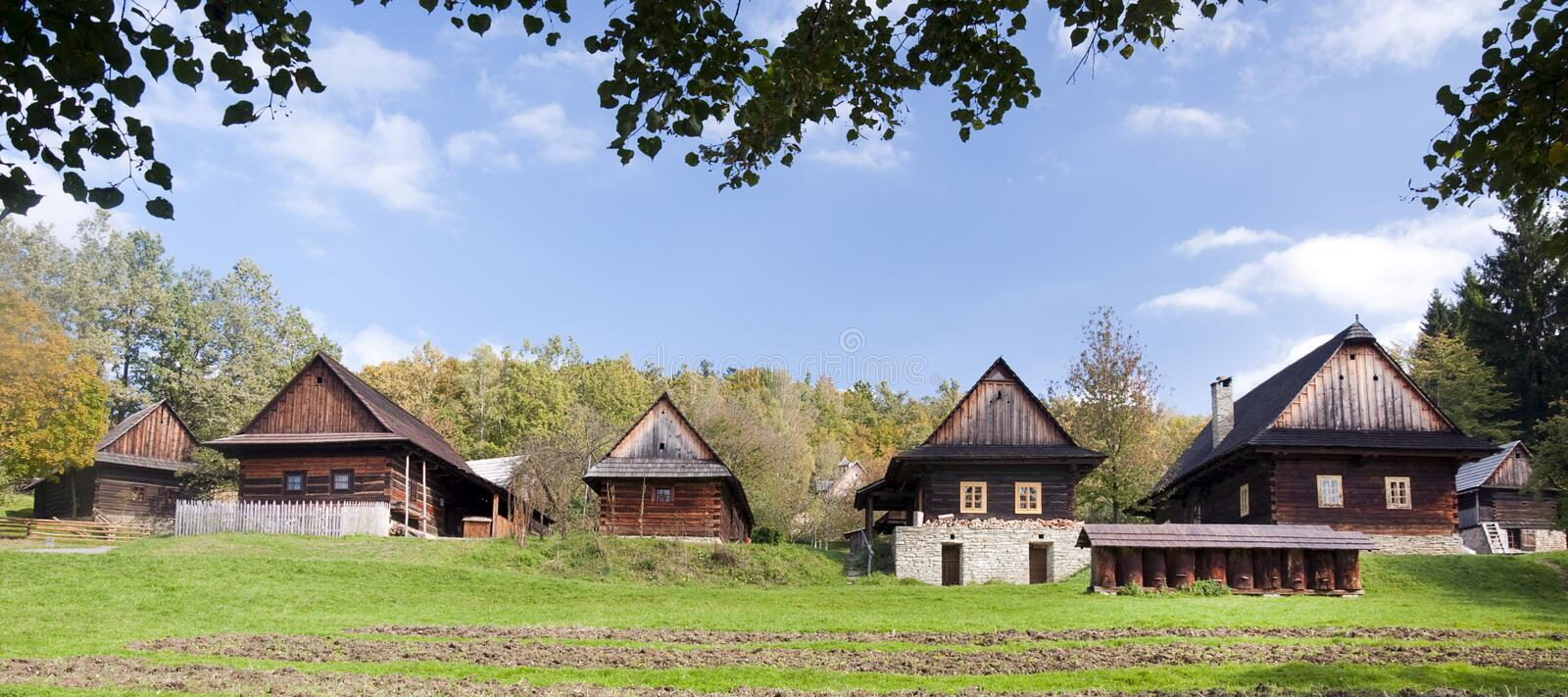 Download Cottages in countryside stock photo. Image of republic - 19282740