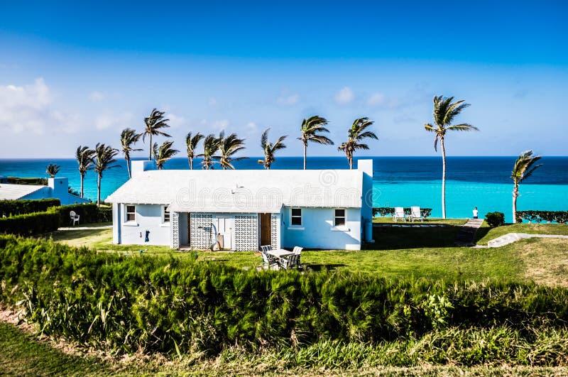 Cottages de vacances de Muro, Bermudes photo libre de droits