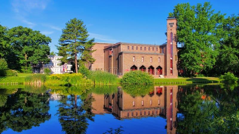 Cottbus art museum, the old power plant stock photos