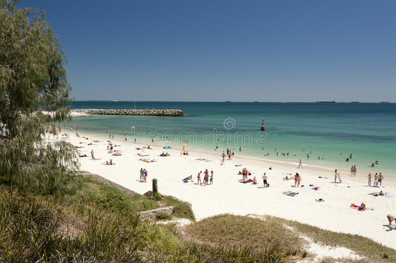Cottesloe Beach, Perth, Western Australia Royalty Free Stock Images