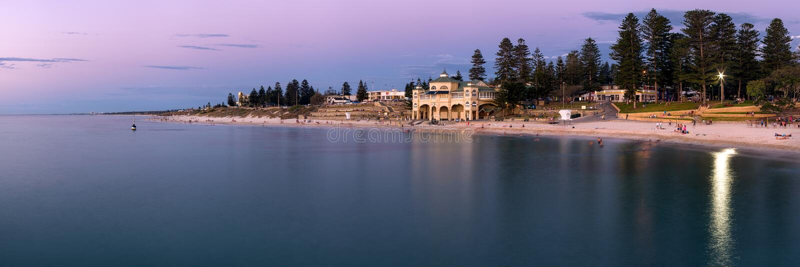 Cottesloe plaża, Perth obrazy stock