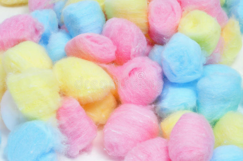 Cotton balls royalty free stock images