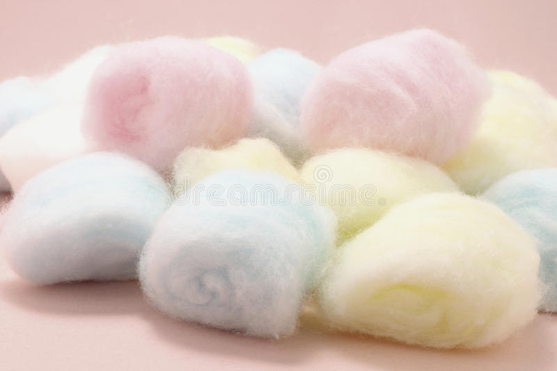 Download Cotton Balls stock image. Image of life, coloured, hygienic - 20918553
