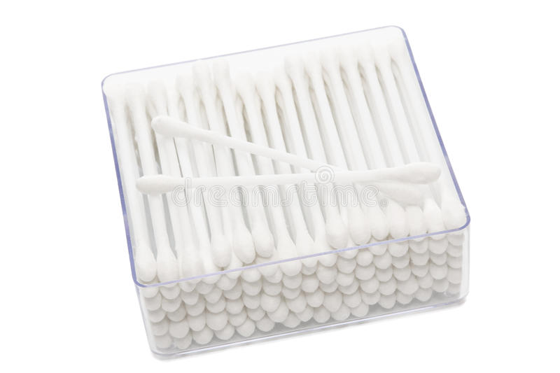 Cotton buds in box