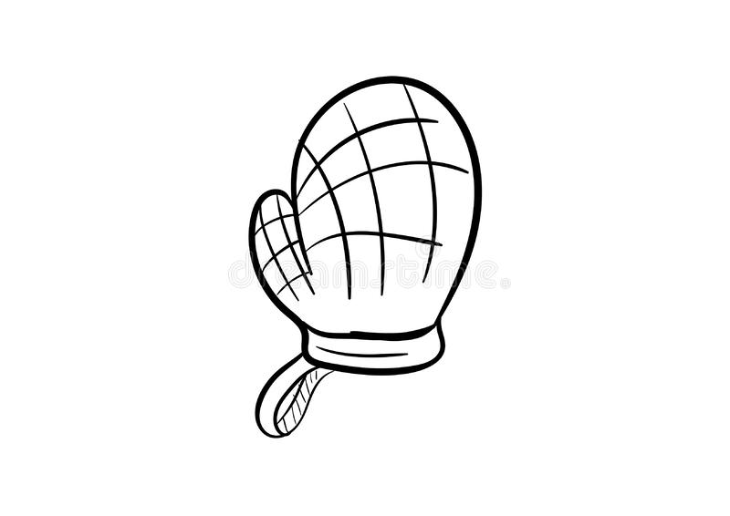 Cotton checkered usability tacking cookware cake icon vector. Hand draw drawing vector illustration