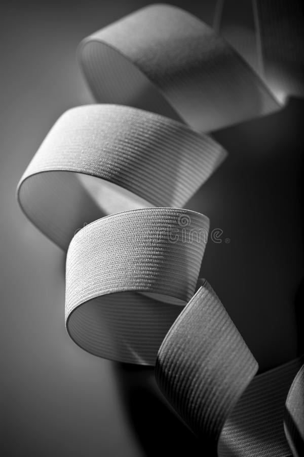 Download Cotton elastic stock photo. Image of black, coil, rubber - 10301046