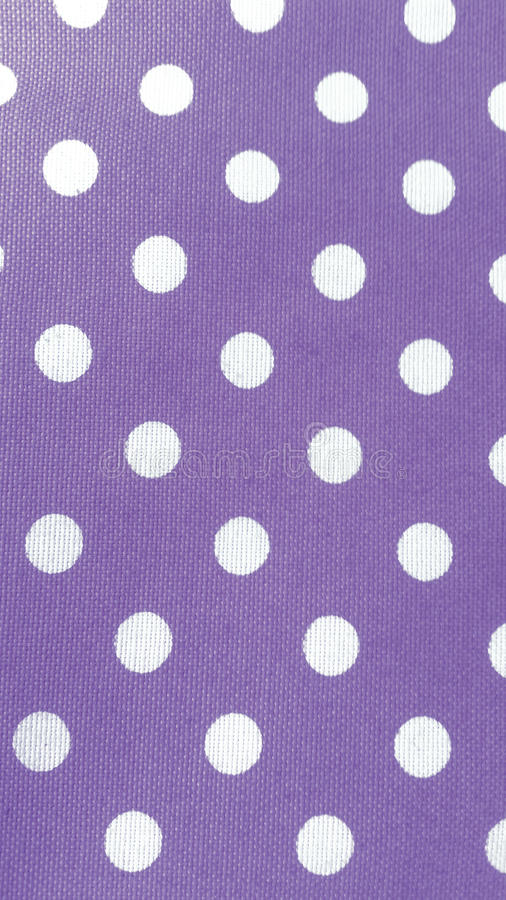 Cotton fabric with white dots, abstract background. Cotton fabric with white dots stock photo