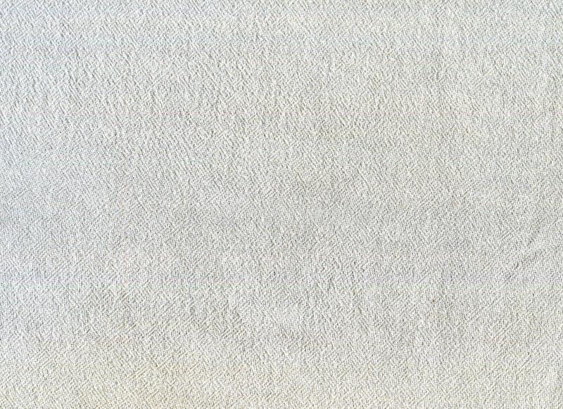 Cotton fabric white texture background stock photos