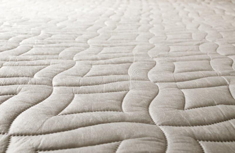 Cotton pattern on the mattress royalty free stock photo