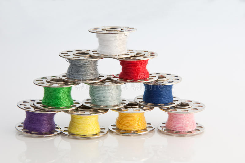Cotton Reel Pyramid stock images