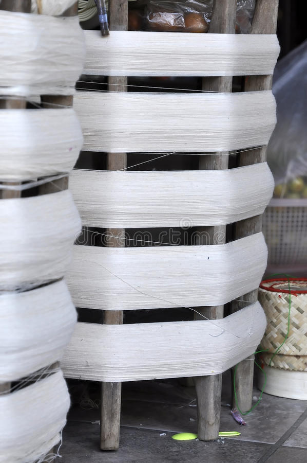 Free Cotton Roll Wood Thread Royalty Free Stock Photos - 20110578
