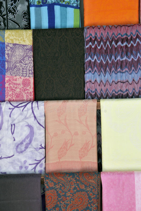 Download Cotton Scarves Royalty Free Stock Photo - Image: 25851435