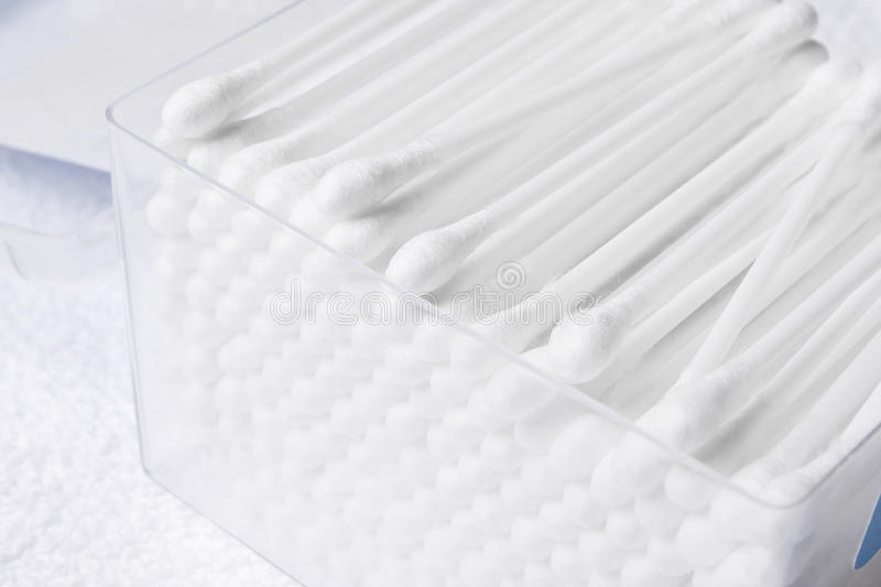 Download Cotton swabs stock photo. Image of macro, cottony, cleaners - 12358410