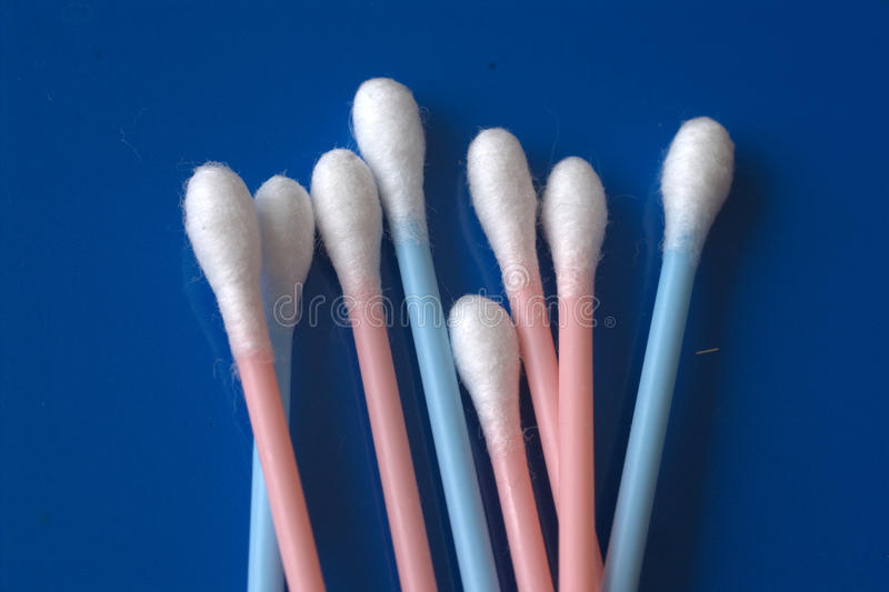 Cotton Swabs Royalty Free Stock Images