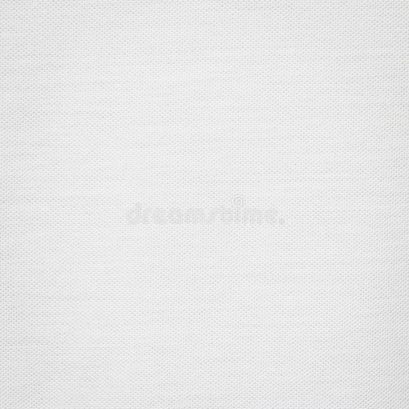 Cotton texture background. White fabric material. Blank textile surface stock photo