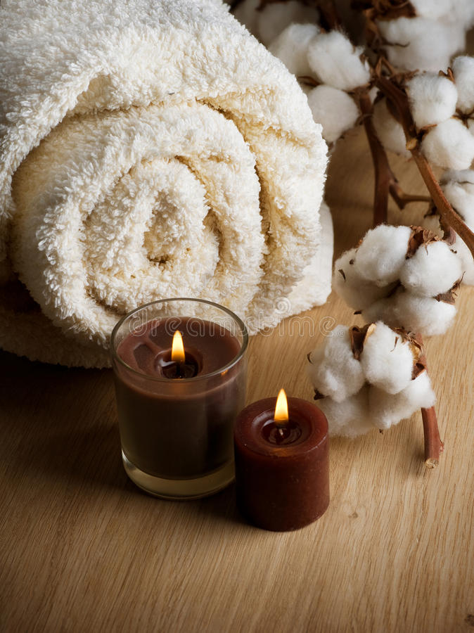Cotton Towel Royalty Free Stock Photography