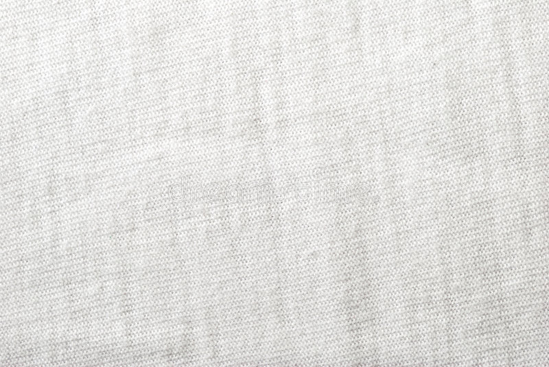Cotton white fabric texture royalty free stock photo