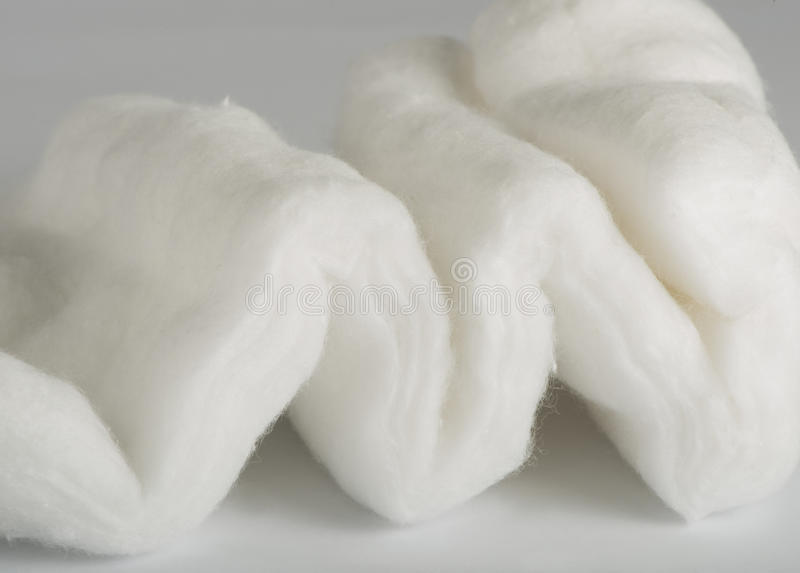 Cotton wool royalty free stock images