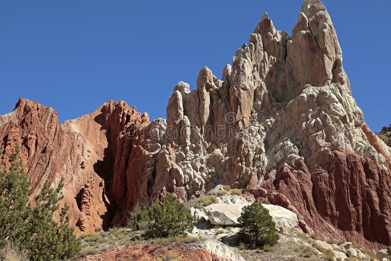 Cottonwood monumento nacional de Canyon Road, Escalante de la escalera magnífica, Utah, los E.E.U.U. fotos de archivo