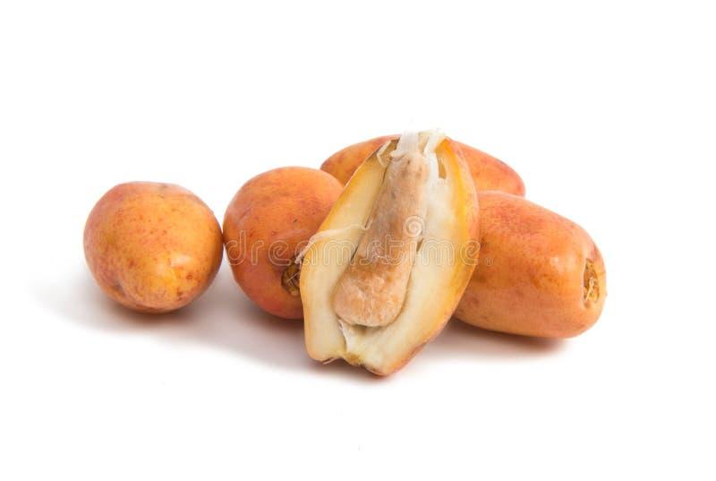 Cottura delle date della frutta immagine stock