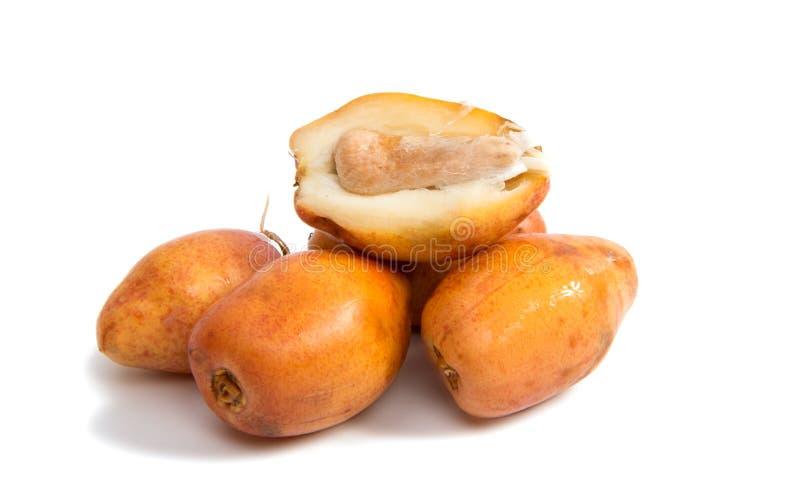 Cottura delle date della frutta fotografia stock