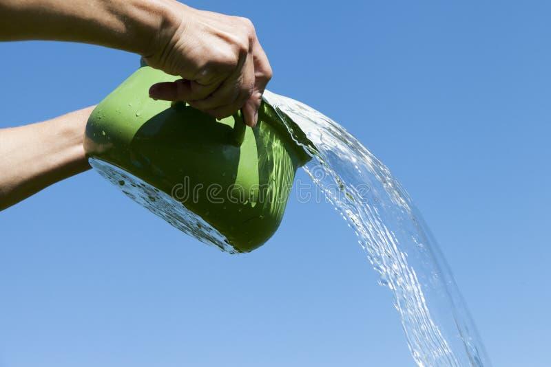 Cottura vaso e dell'acqua fotografia stock