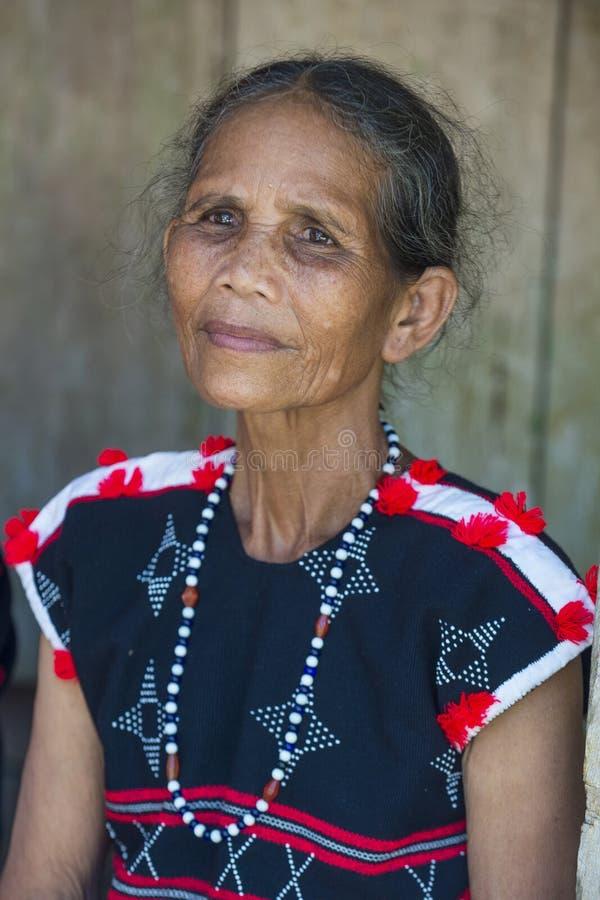 Cotu mniejszość etniczna w Wietnam zdjęcia stock