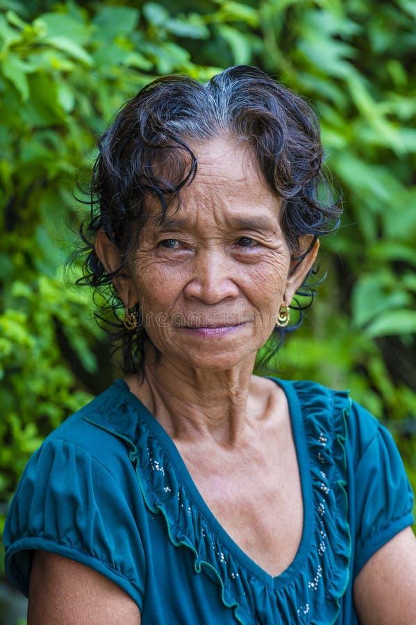 Cotu mniejszość etniczna w Wietnam zdjęcie stock