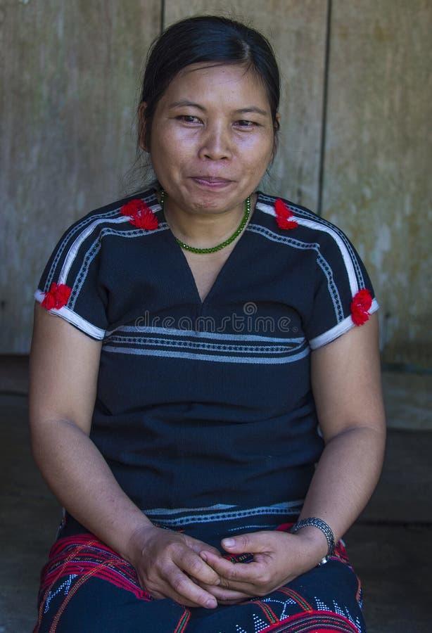 Cotu mniejszość etniczna w Wietnam obraz stock