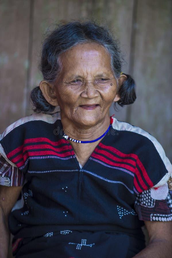 Cotu mniejszość etniczna w Wietnam fotografia royalty free