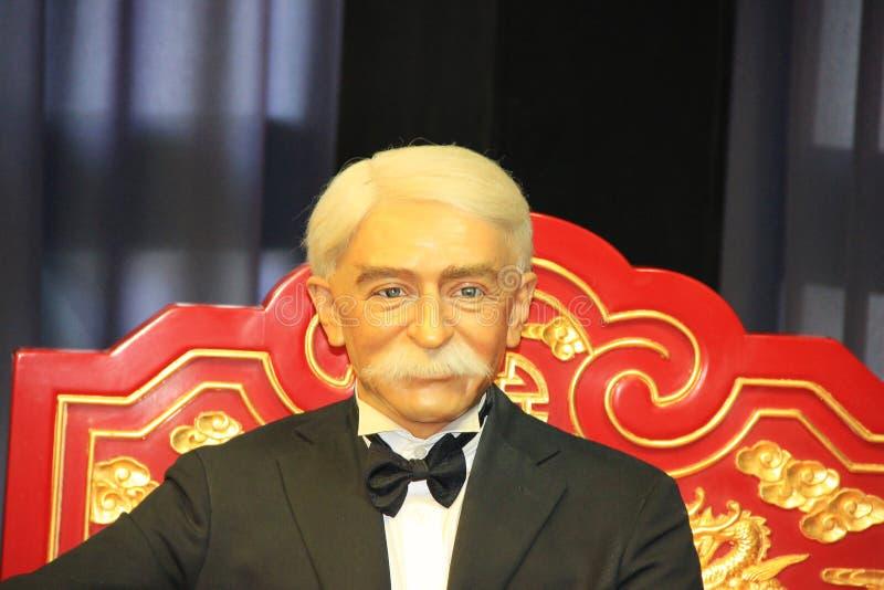 Coubertin imagem de stock royalty free