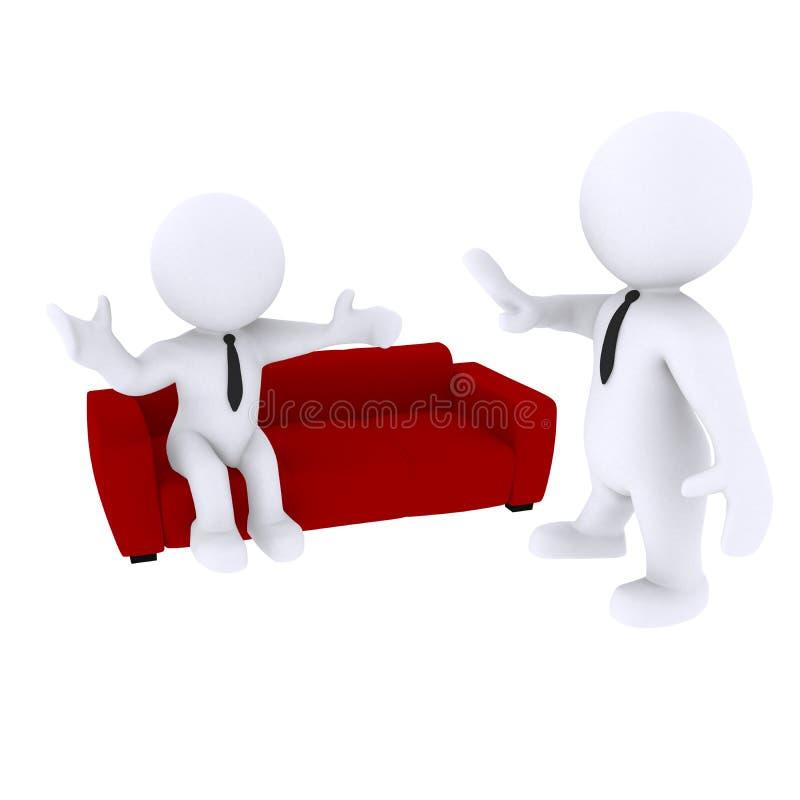 Couch lizenzfreie abbildung