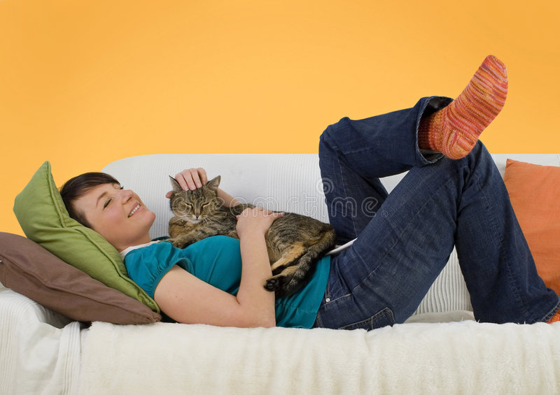 Download Couch business 14 stock photo. Image of couch, lying, person - 5047058