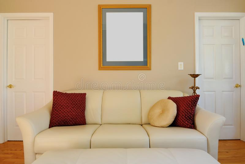 Couch And Living Room Royalty Free Stock Image