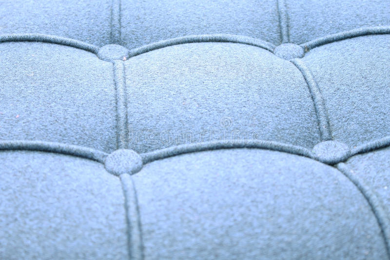 Couch pattern texture (fabric)- blue stock photo