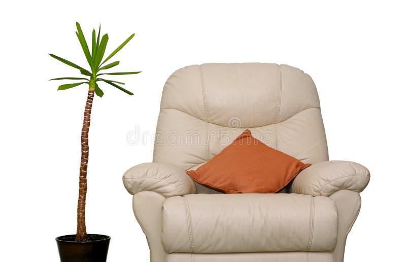 Couch und Anlage stockbilder