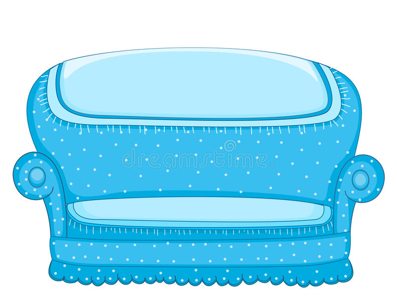 Download Couch vector illustration stock vector. Illustration of couch - 25427889