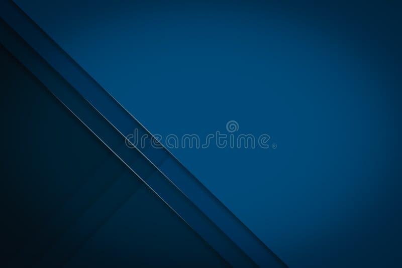 Couche abstraite de chevauchement de design d'entreprise de fond sur le noir foncé illustration de vecteur