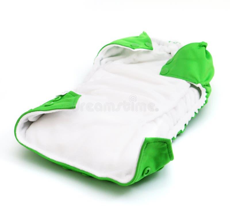 Couche-culotte de tissu image stock